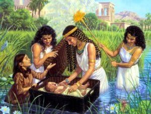 Moses-Miriam-Pharao